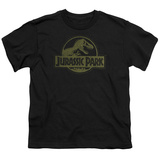Youth: Jurassic Park - Distressed Logo T-Shirt