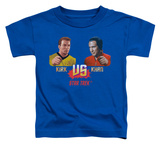 Toddler: Star Trek - Kirk Vs Khan T-shirts