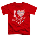 Toddler: Smarties - I Heart Smarties Shirts