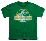 Youth: Jurassic Park - JP Orange T-shirts