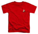 Toddler: Star Trek - Engineering Uniform T-shirts