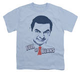 Youth: Mr Bean - Full Of Beans T-Shirt