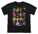 Youth: Batman The Brave and the Bold - Cast Of Characters Shirt