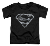 Toddler: Superman - Smoking Shield T-shirts