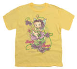 Youth: Betty Boop - Flower Vine Fairy T-Shirt