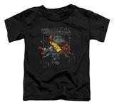 Toddler: Superman - Showdown T-shirts