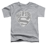 Toddler: Superman - Man Of Steel Shield T-shirts