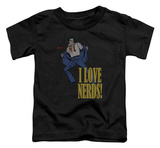 Toddler: Superman - I Love Nerds T-shirts