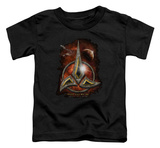 Toddler: Star Trek - Klingon Crest T-Shirt