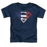 Toddler: Superman - French Shield T-Shirt