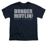 Youth: The Office - Dunder Mifflin Distressed T-shirts