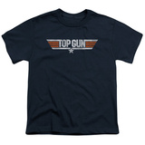 Youth: Top Gun - Distressed Logo T-shirts