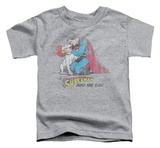 Toddler: Superman - And His Dog T-shirts