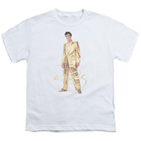 Youth: Elvis Presley - Gold Lame Suit T-Shirt