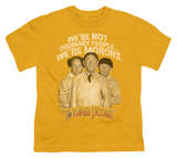 Youth: The Three Stooges - Morons T-shirts