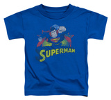 Toddler: Superman - Superman Rough Distress T-shirts