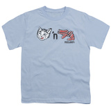 Youth: Puss N Boots - Rebus Logo T-Shirt