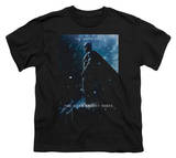 Youth: Dark Knight Rises - Batman Poster Tシャツ