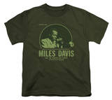 Youth: Miles Davis - The Green Miles T-Shirt