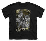 Youth: Popeye - Only The Strong T-shirts