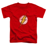 Toddler: The Flash - Destroyed Flash Logo T-shirts