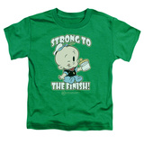 Toddler: Popeye - Strong To The Finish Shirts