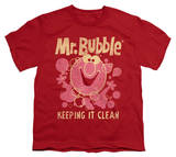 Youth: Mr Bubble - Keeping It Clean T-shirts