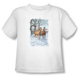 Toddler: Wildlife - Coffee And Chocolate T-Shirt