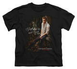 Youth: The Vampire Diaries - I Used To Care T-shirts