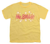 Youth: Mr Bubble - Vintage Logo Shirts