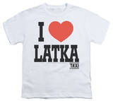 Youth: Taxi - I Heart Latka Shirt