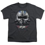 Youth: Top Gun - Iceman Helmet T-shirts