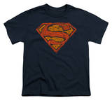 Youth: Superman - Messy S Shirt