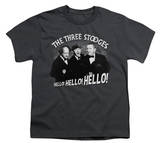 Youth: The Three Stooges - Hello Again T-shirts