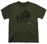 Youth: Army - Strong Shirt