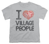 Youth: The Village People - I Heart VP T-shirts