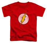 Toddler: The Flash - Flash Logo Distressed Shirts