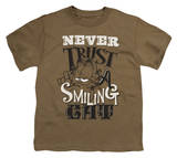 Youth: Garfield - Never Trust Shirts