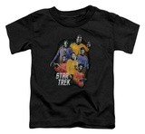 Toddler: Star Trek - Galaxy Glow T-shirts