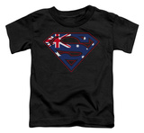 Toddler: Superman - Australian Shield T-Shirt