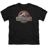 Youth: Jurassic Park - Logo T-shirts