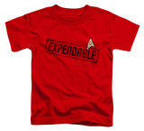 Toddler: Star Trek - Expendable T-shirts