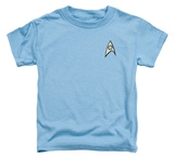 Toddler: Star Trek - Science Uniform T-shirts