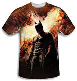 Youth: Dark Knight Rises - Fire Poster Shirts