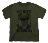 Youth: The Three Stooges - Moe Money T-shirts
