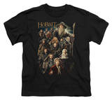 Youth: The Hobbit: An Unexpected Journey - Somber Company Shirts