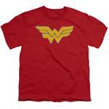 Youth: Wonder Woman - Rough Wonder T-Shirt