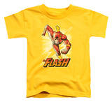 Toddler: The Flash - Flash Yellow T-Shirt