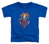 Toddler: Superman - Steel Pop T-shirts