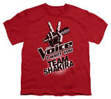 Youth: The Voice - Team Shakira T-shirts